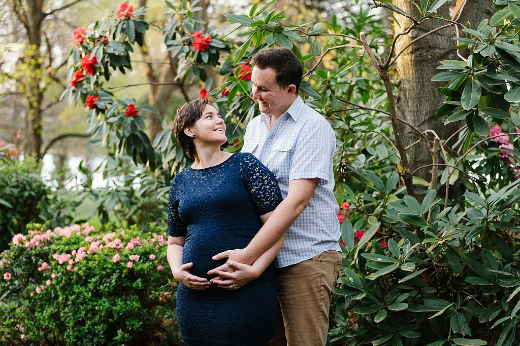 Katie and Paul at their Maternity session