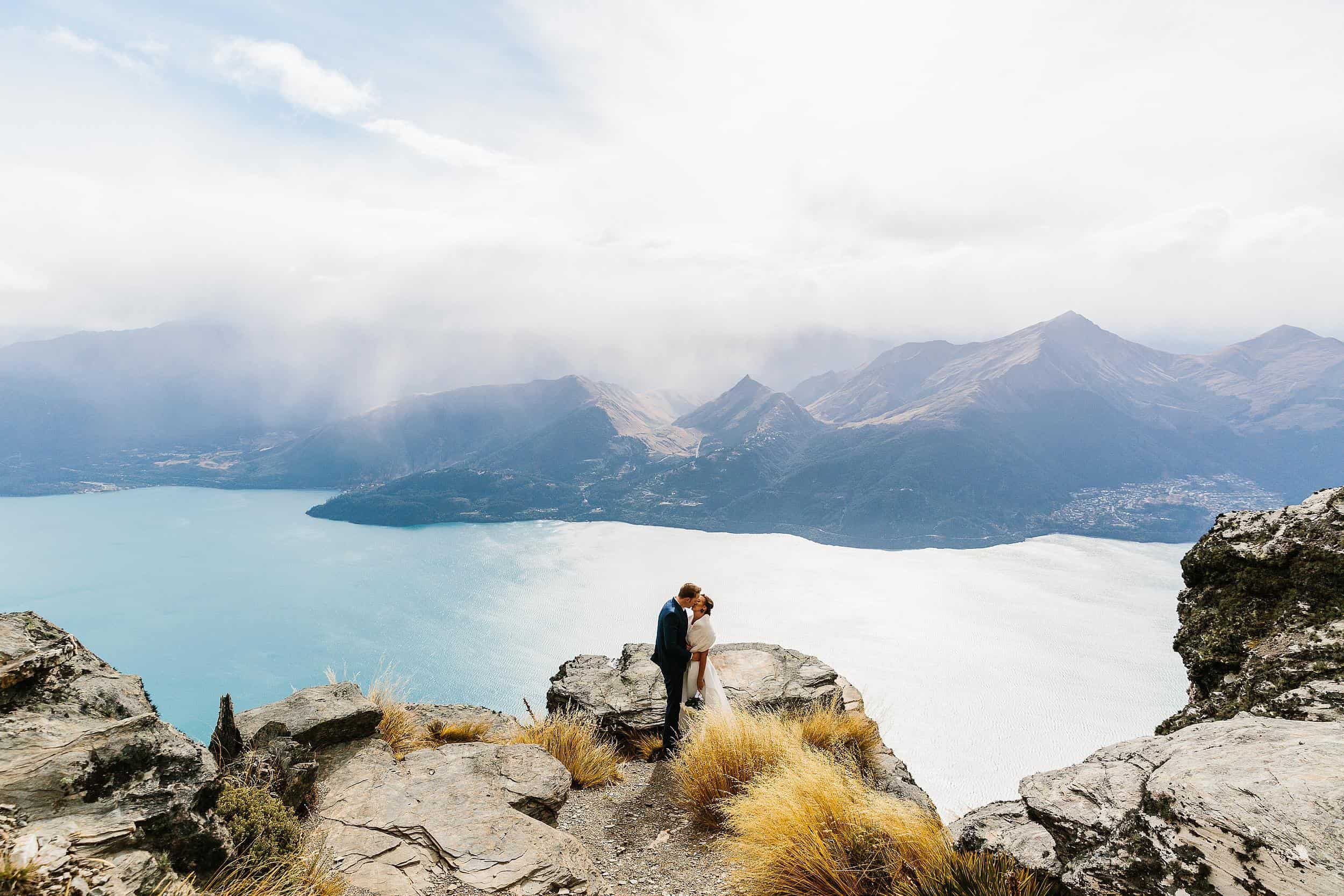 Alisha & Michael's Queenstown Wedding