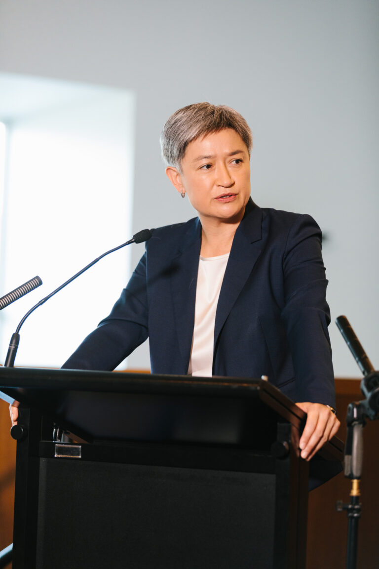 Minister Penny Wong