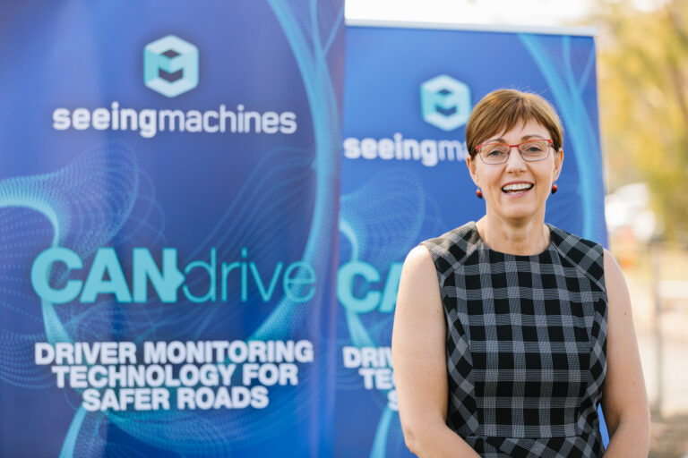 Minister at Seeing Machines Opening